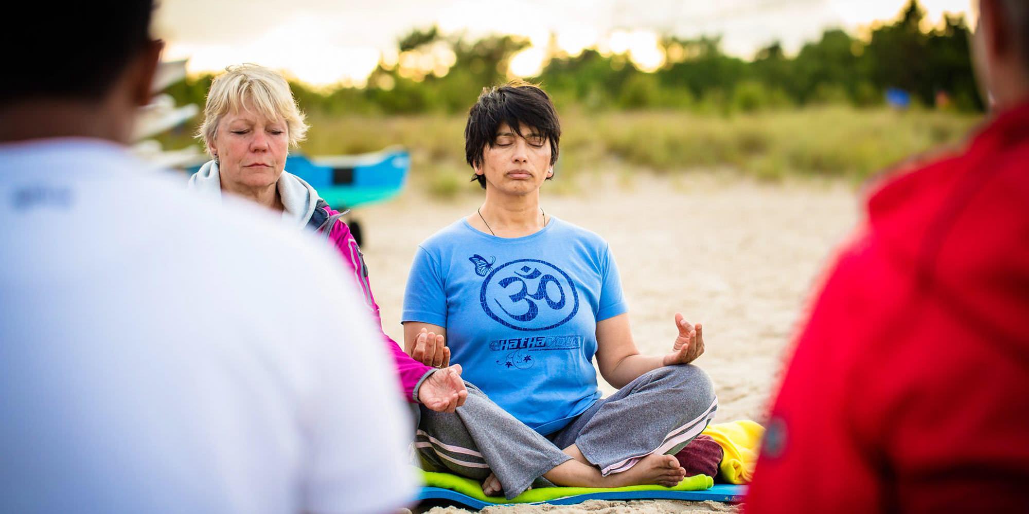 Yogareisen im Ostseebad Baabe