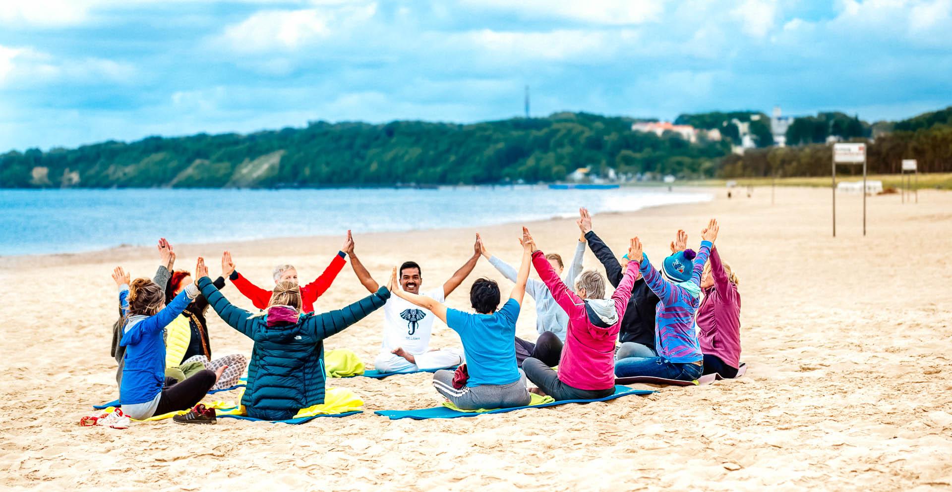 Kriya Yoga in Baabe auf Rügen 2016