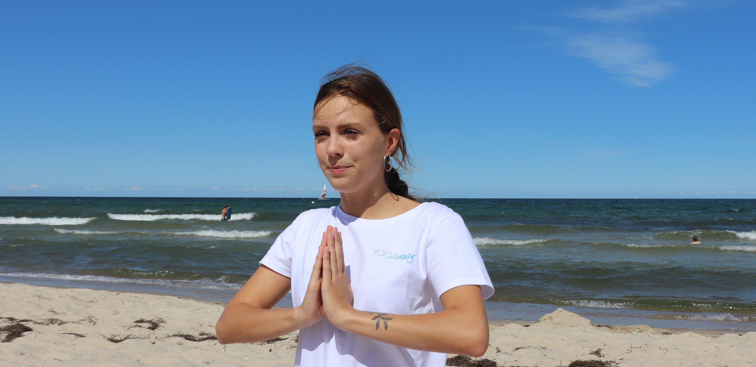 Yoga-Erfahrungen im Team- Gina